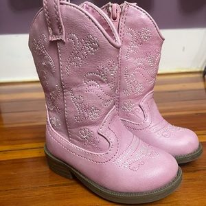 NEW ~ Cat /& Jack Toddlers Girls Elastic Gore Ankle Boots Pink Size 6 11 10 7